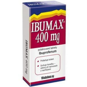 IBUMAX 400MG potahované tablety 10