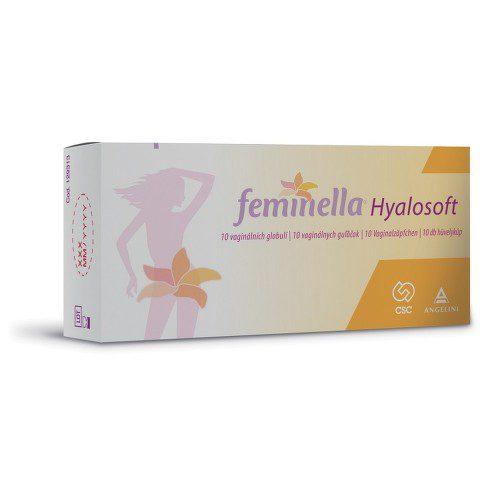Feminella 10 vaginálních globulí