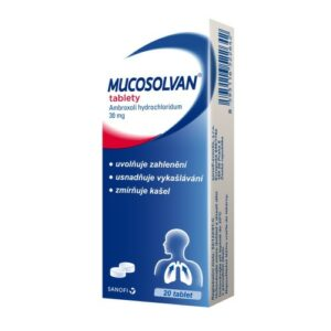 MUCOSOLVAN 30MG neobalené tablety 20