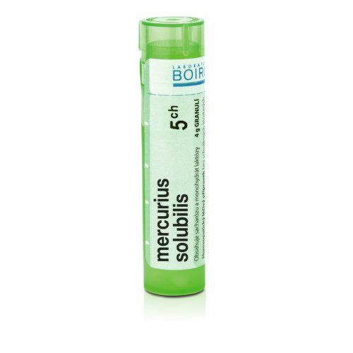 MERCURIUS SOLUBILIS 5CH granule 4G
