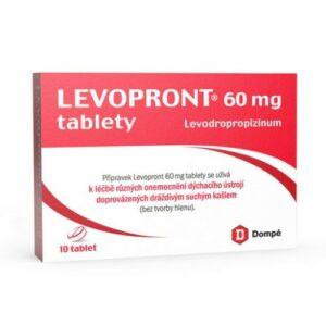 LEVOPRONT 60MG neobalené tablety 10