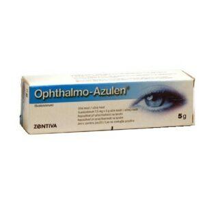 OPHTHALMO-AZULEN 1,5MG/G oční podání UNG 5G