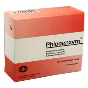 PHLOGENZYM 90MG/48MG/100MG potahované tablety 100 III