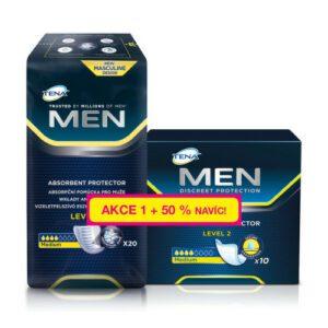 TENA Men Level 2 +50% navíc ink.vložky 750739 30ks