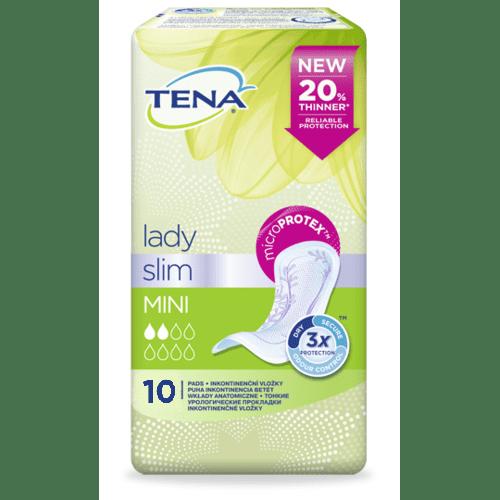 TENA Lady Slim Mini - Inkontinenční vložky (10ks)