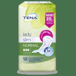 TENA Lady Slim Normal – Inkontinenční vložky (12ks)