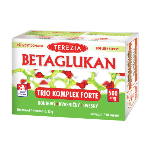 TEREZIA Betaglukan Trio komplex forte cps.30