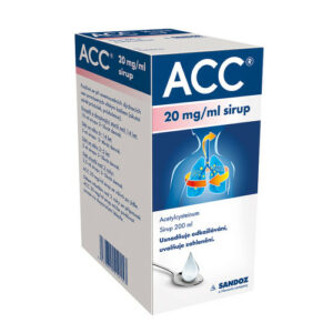 ACC 20MG/ML sirup 1X200ML