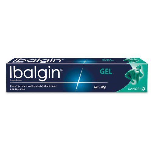 IBALGIN 50MG/G gel 50G