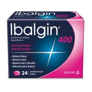 IBALGIN 400MG potahované tablety 24