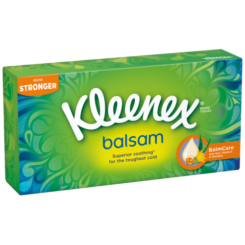 KLEENEX Kapesníky papírové Balsam Box 72ks