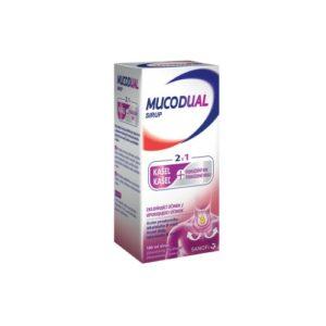 Mucodual 2.5g/100ml sirup 100ml – II. jakost