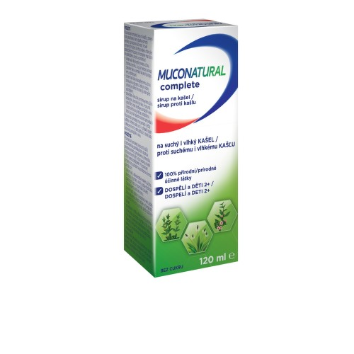 Muconatural complete sirup 120ml