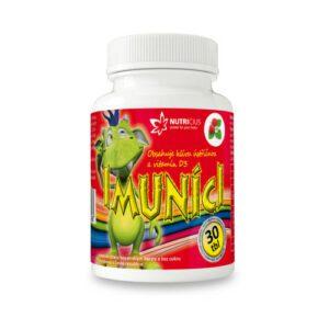 Imuníci – Hlíva ústřičná s vit. D pro děti tbl.30