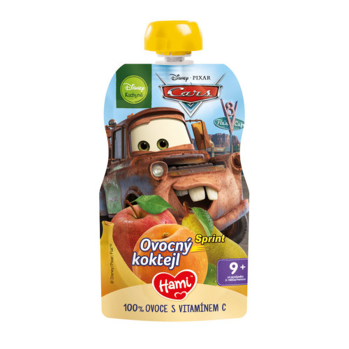 Hami Disney Cars OK ovocný koktejl 110g C-50