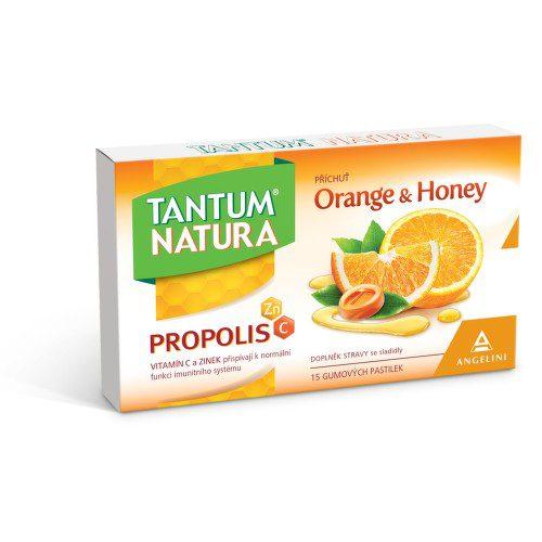 Tantum Natura Orange&Honey+Zn+vit.C past.15