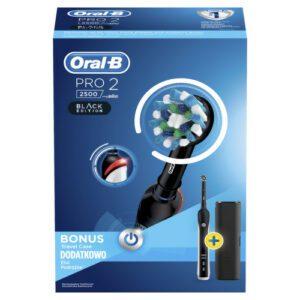 Oral-B El.kart. PRO2 2500 Black CrossAct. +pouzdro