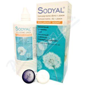 Sodyal Roztok na kontaktní čočky 360 ml – II. jakost