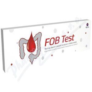 TOZAX Fob test okultní krvácení ve stolici
