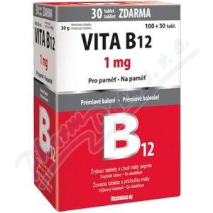 Vita B12 1mg tbl. 100+30