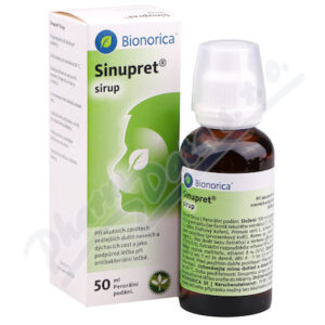 SINUPRET sirup 50ML