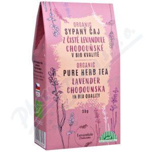 Čaj z čisté Levandule Chodouňské v BIO kvalitě 30g