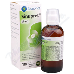 SINUPRET sirup 100ML
