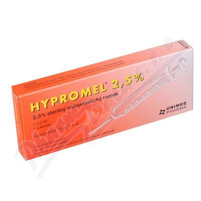Hypromel 2.5% 1x2ml+1xkanyla