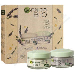 Garnier BIO Levandule dárková sada denní a noční krém